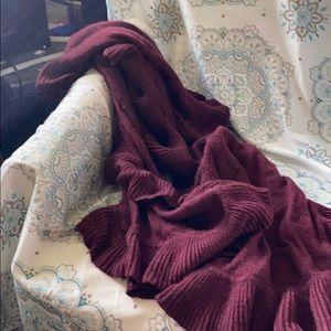 Long wrap around scarf